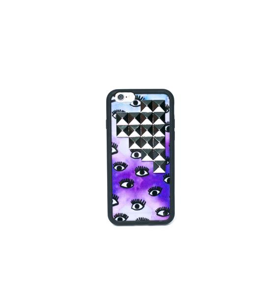 Wildflower Eyez Wide Open Studded iPhone 6 Case