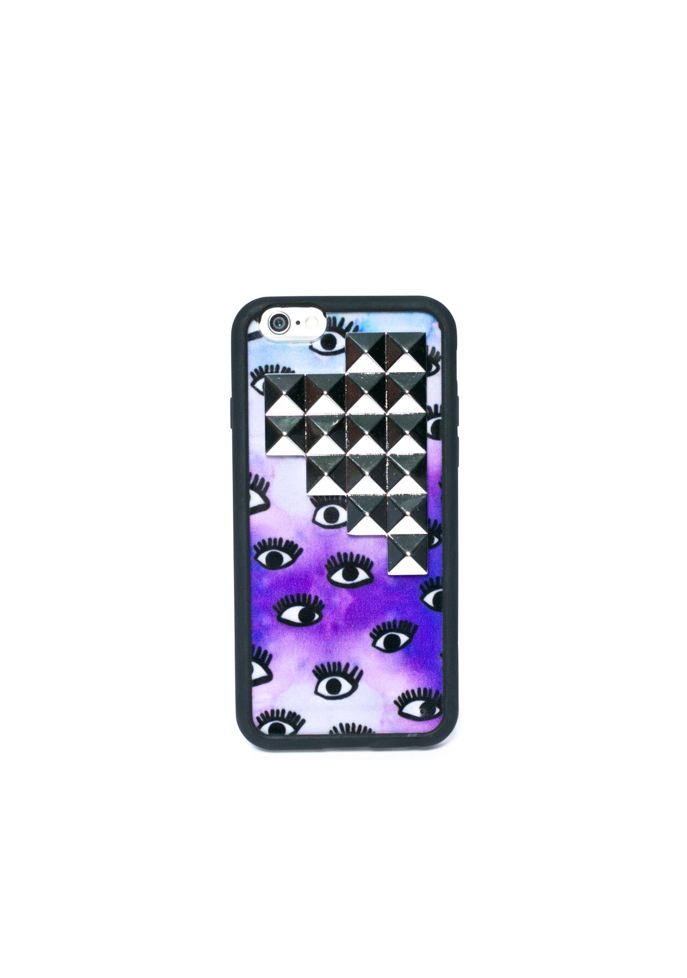 Wildflower Eyez Wide Open Studded iPhone 6 Case