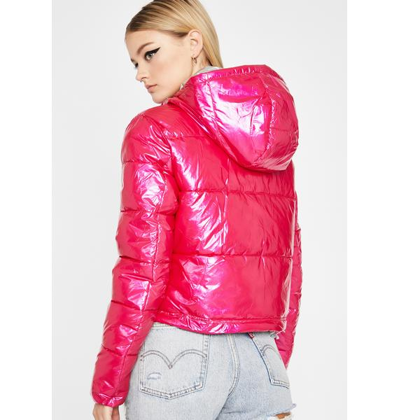 Keep My Cool Puffer Jacket