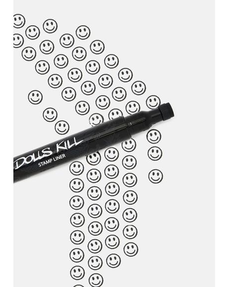 Put On A Happy Face Stamp Liner