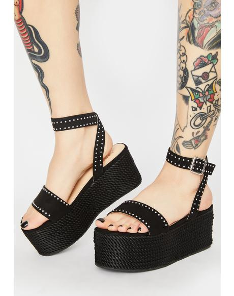 Way Above It Platform Sandals