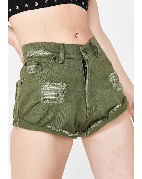 Boulevard Denim Shorts