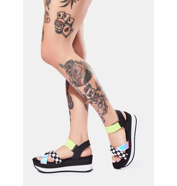 Dirty Laundry Get Some Platform Sandals
