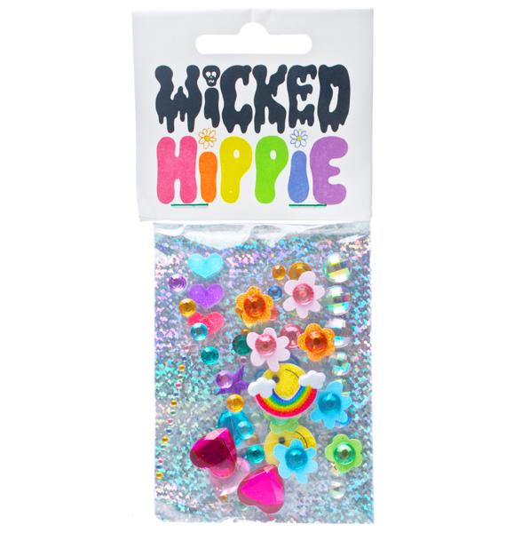 Wicked Hippie Love Face Jewelz 2.0
