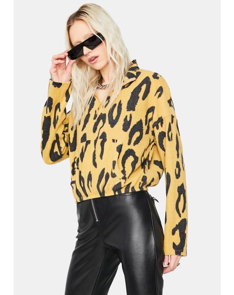 Fierce Fix Leopard Pullover