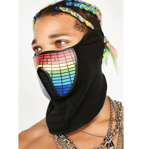 Cyberdog Multicolor Light Up Mask