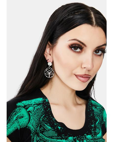 Devil Be Damned Drop Earrings