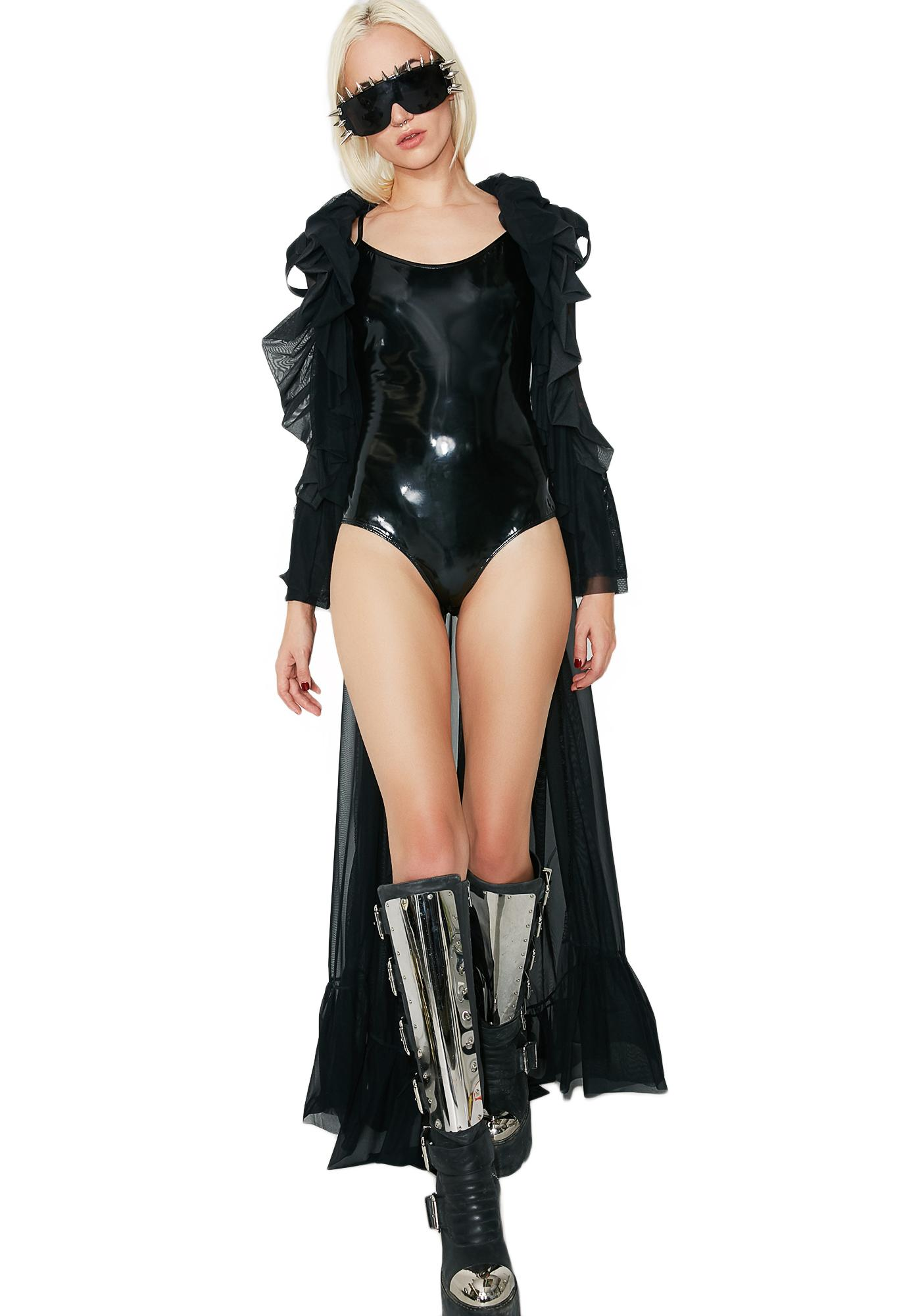 High Key Latex Bodysuit