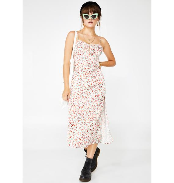Blessed By Spring Floral Dress