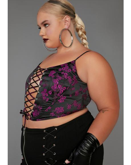 Real Undercover Influencer Corset Top
