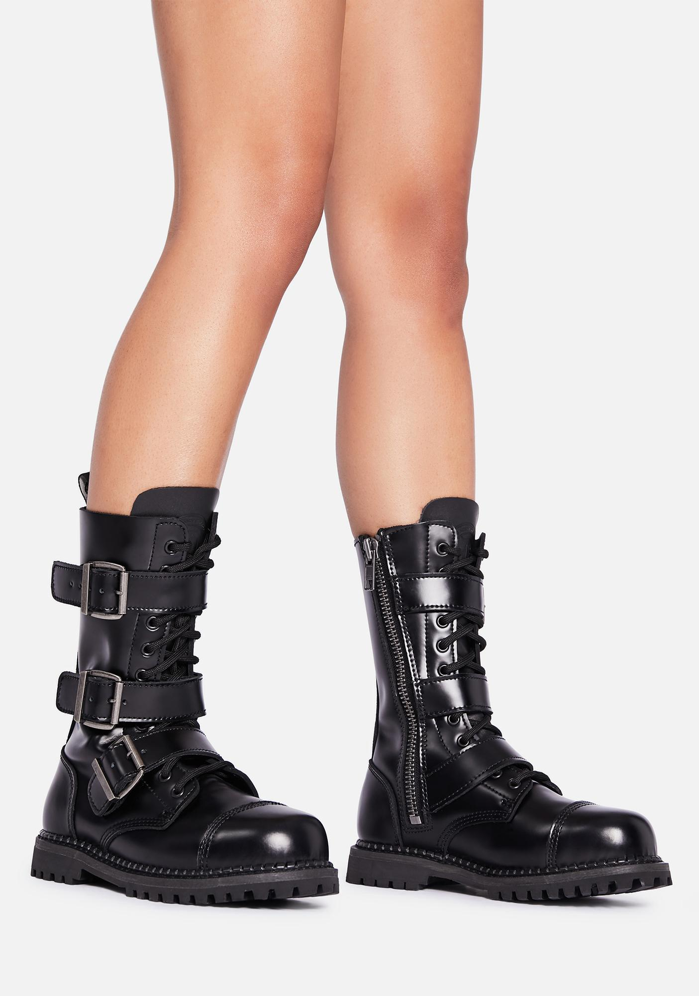 Demonia My Own Way Ankle Boots