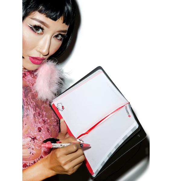 Sanrio Checker Hello Kitty Journal