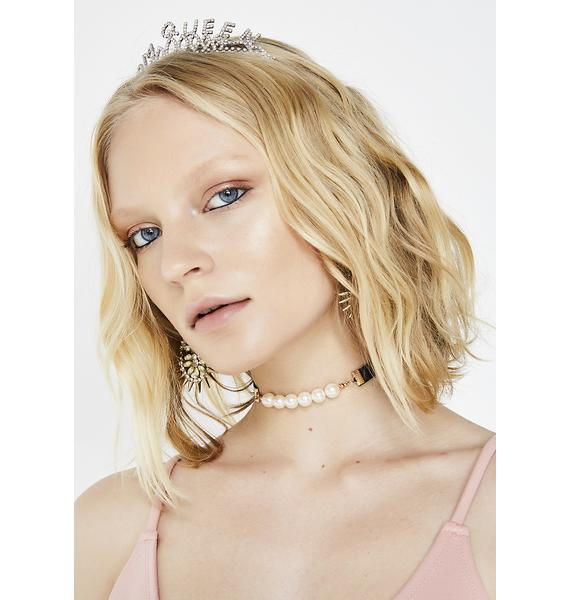 Addicted To Luv Pearl Choker
