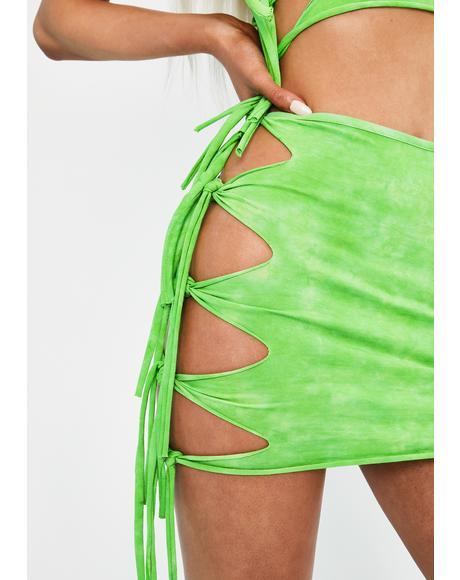 Cosmix Coast Tie Dye Skirt