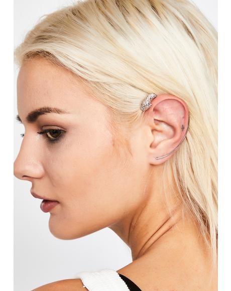 Prime Panther Ear Cuff