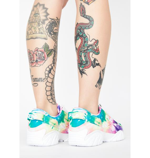 Fila Provenance X Fixture Tie Dye Sneakers