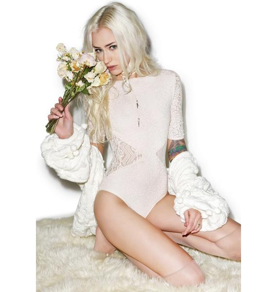 Somedays Lovin Sweet Talker Lace Bodysuit