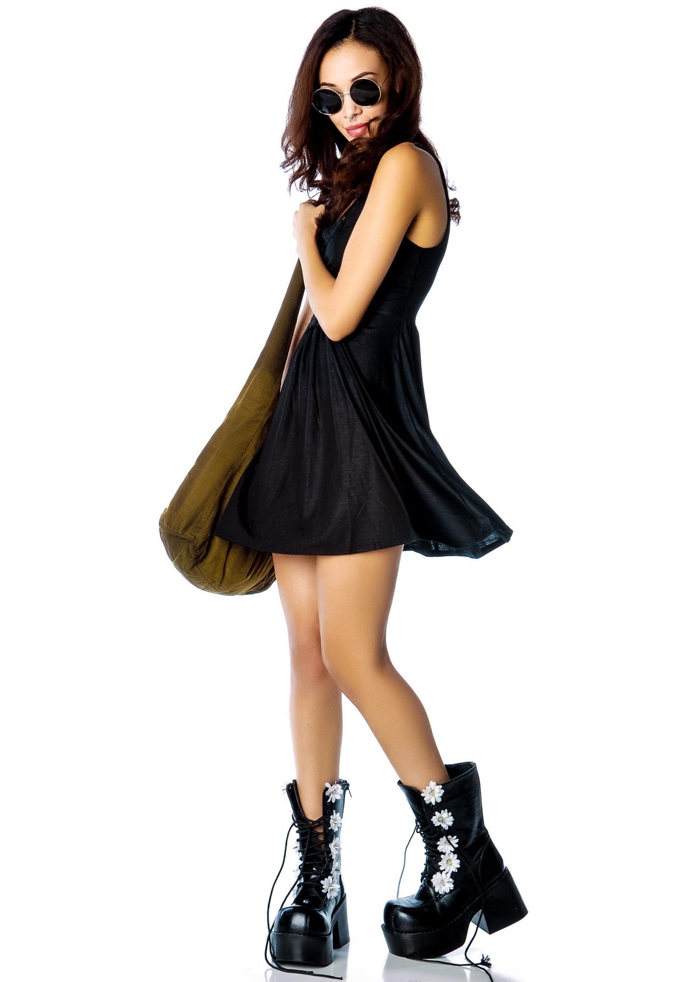 Somedays Lovin Happy Dagger Swing Dress