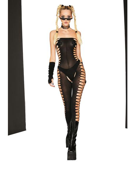Change Things Up Cut Out Bodystocking