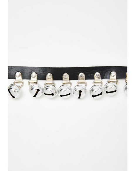 Ring For Love Bells Choker