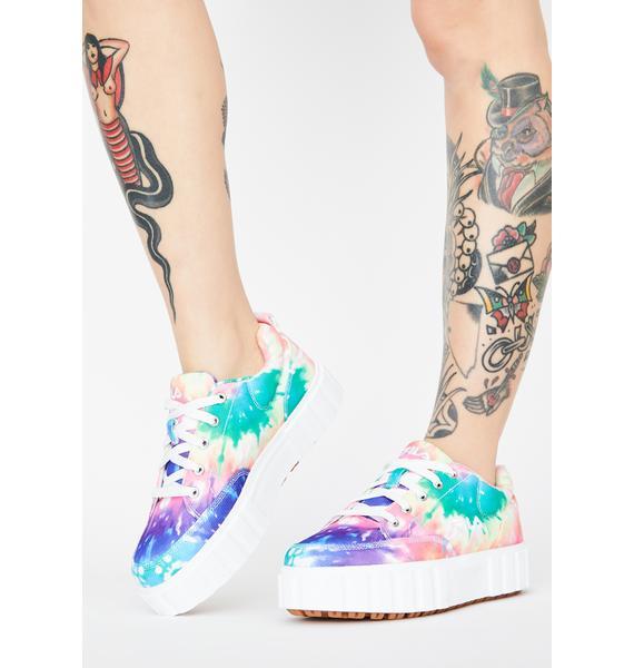 Fila Tie Dye Sandblast Low Sneakers