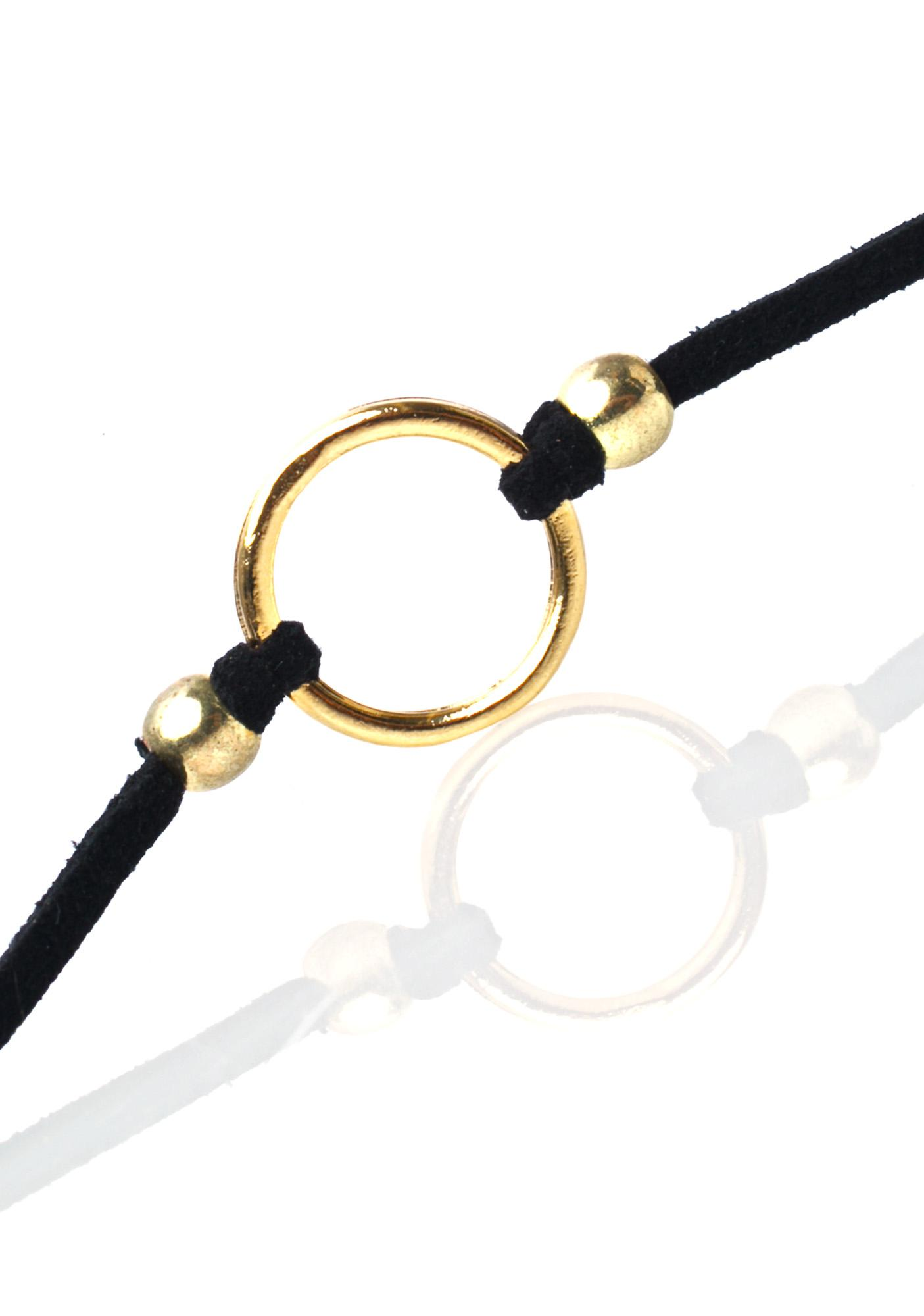 Vanessa Mooney The Gold Ring Choker