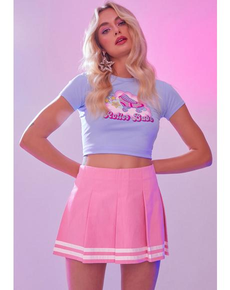 Shakin' It Pleated Skirt