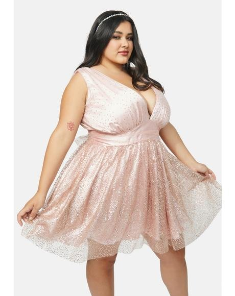 Always High Class Sass Tulle Dress
