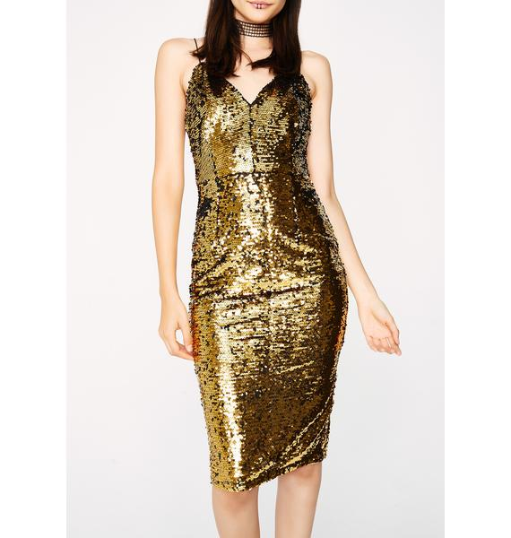 Steal The Show Sequin Dress
