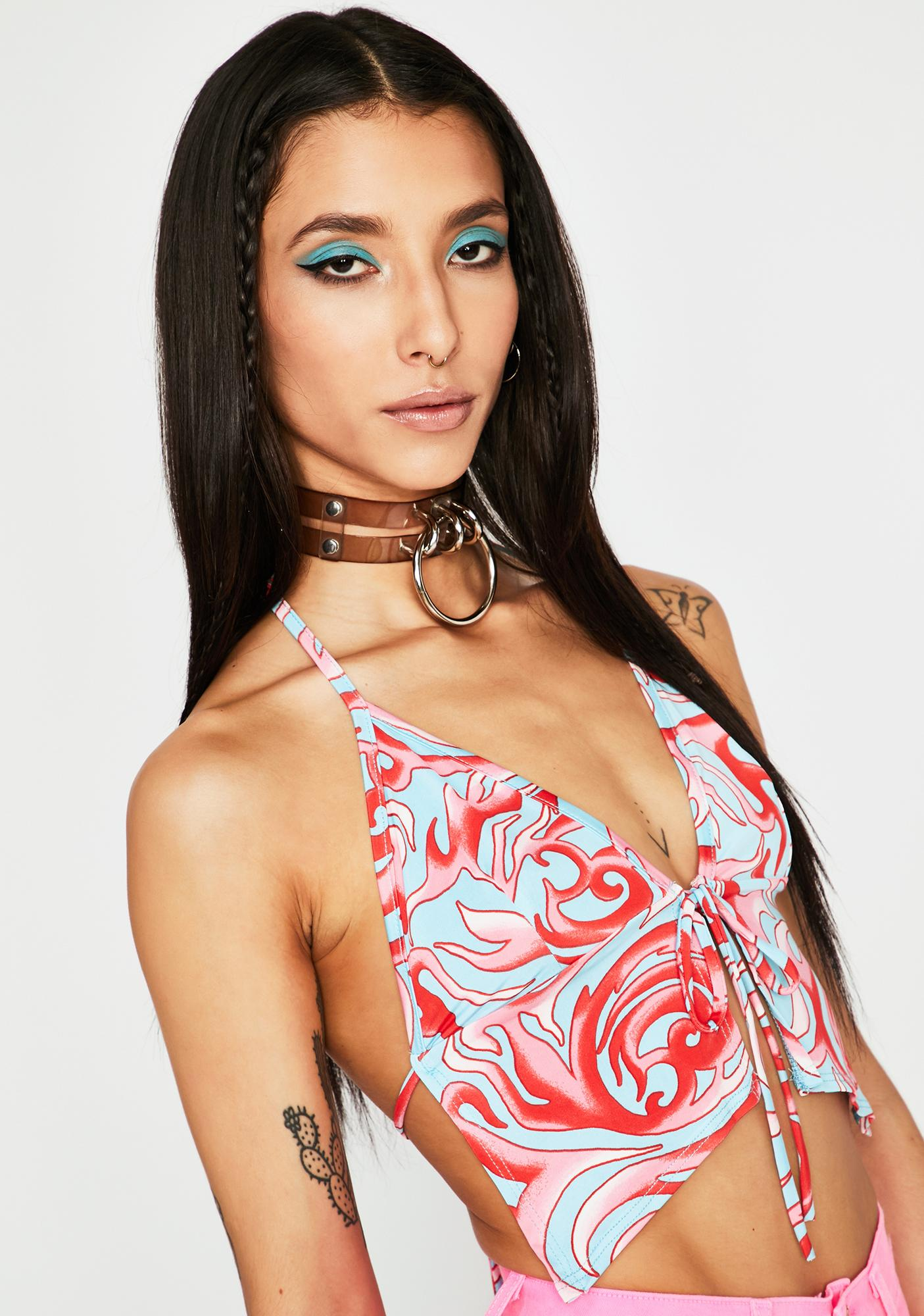 Sky Internal Storm Halter Top