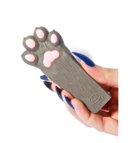 Here Kitty Paw Doorstop