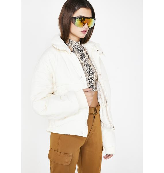Glacier Gangsta Puffer Jacket