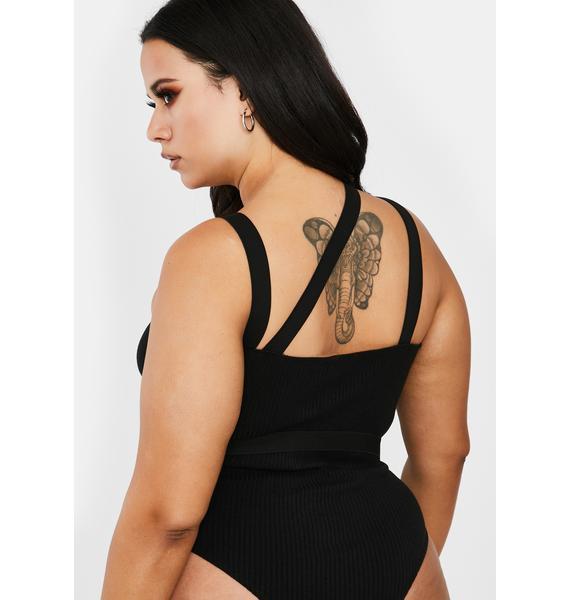 Poster Grl Always Feature Me Buckle Bodysuit