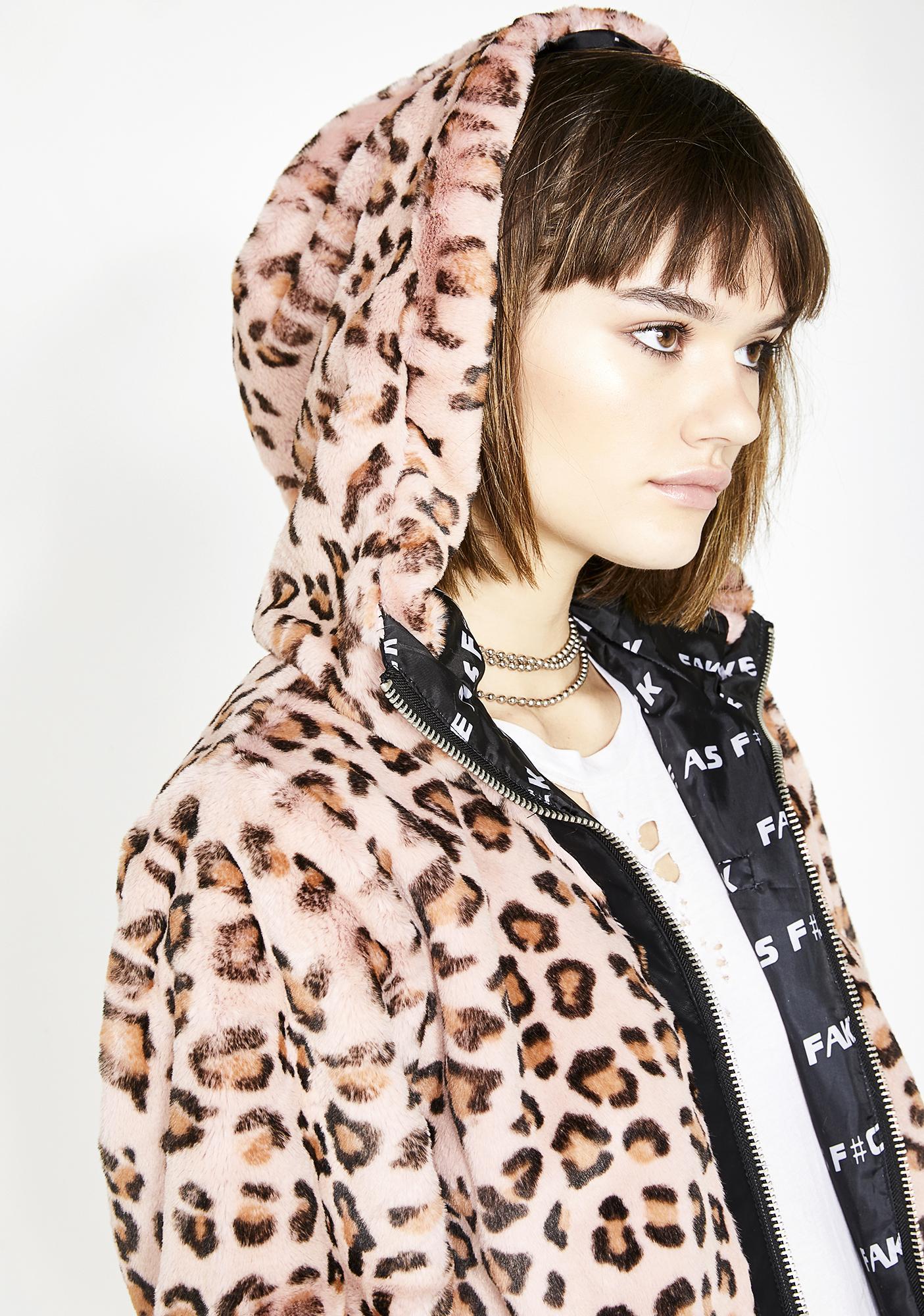 Current Mood Untamed Nature Hooded Jacket