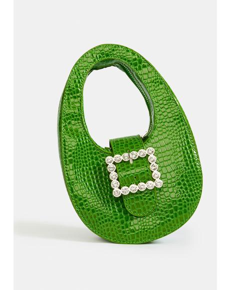 Getting Wild Mini Croc Purse