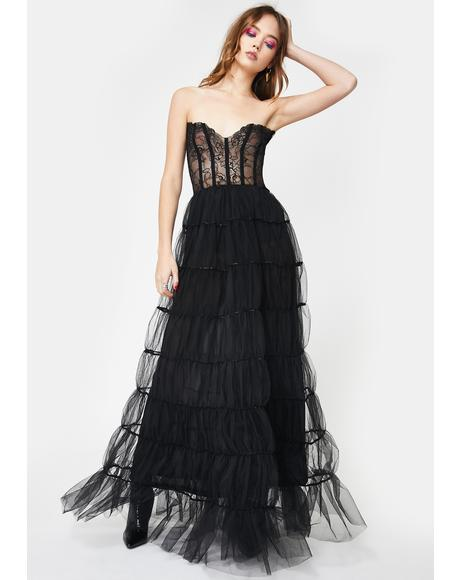 Royal Riches Tulle Gown