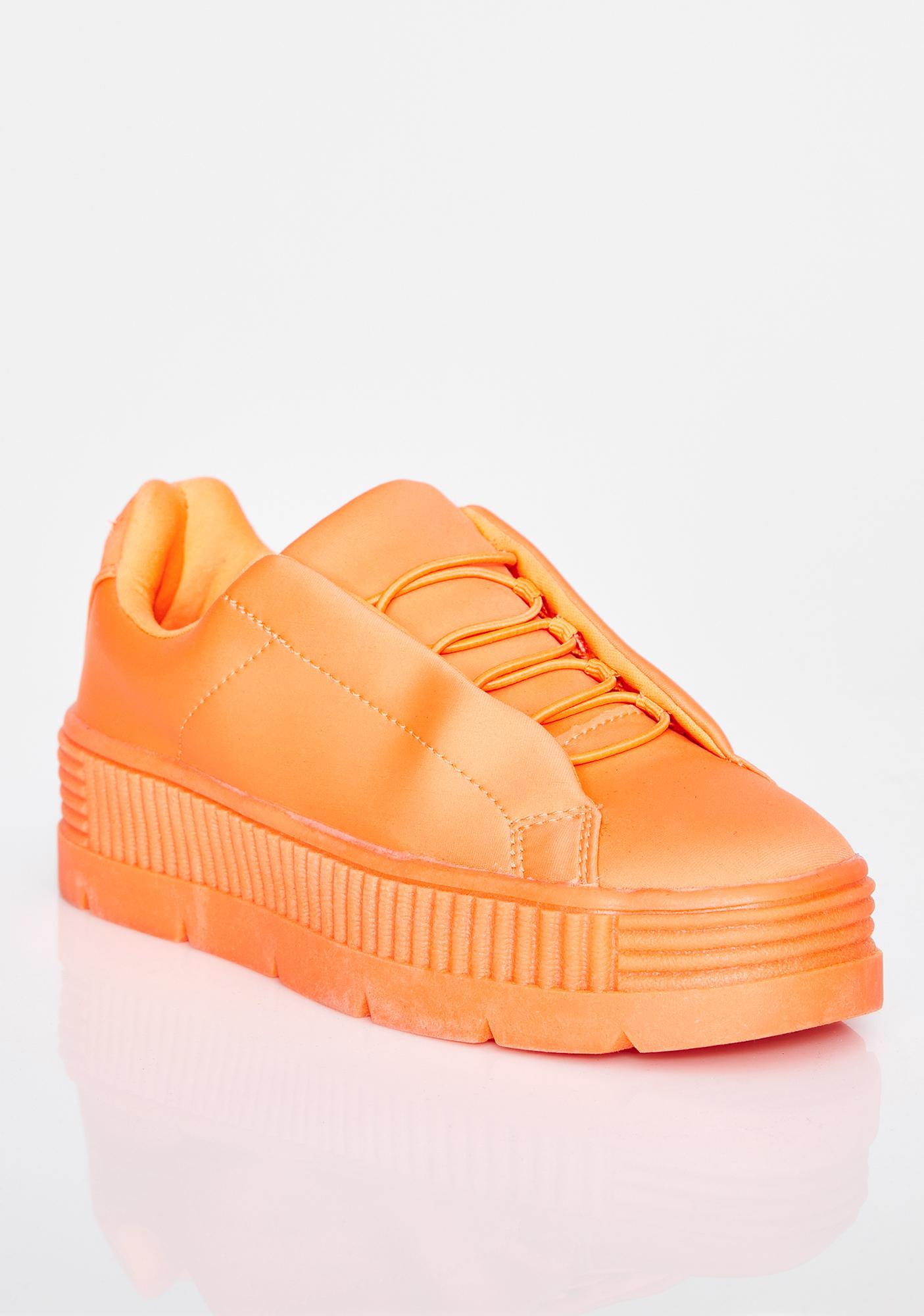 Juicy Anti-Gravity Platform Sneakers