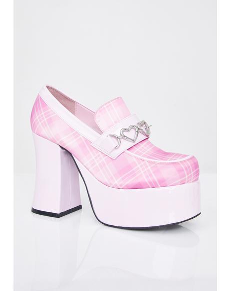 Prep Skool Princess Platform Heels