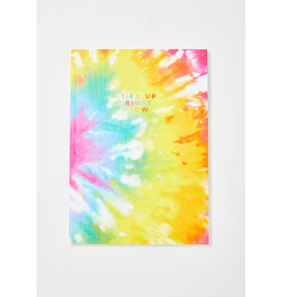 Central 23 Tie Dye Tied Up Right Now Notebook