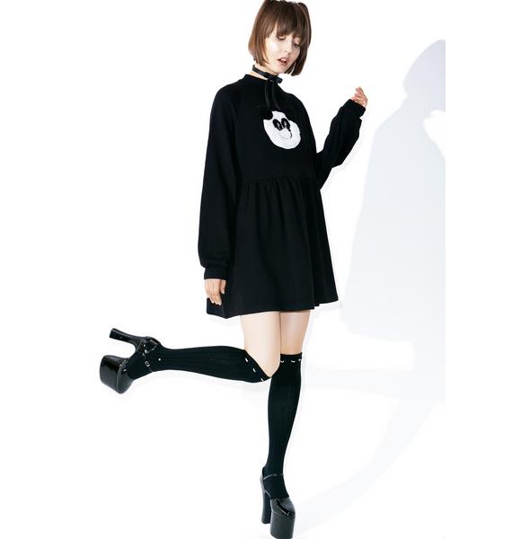Lazy Oaf Panda Sweater Dress