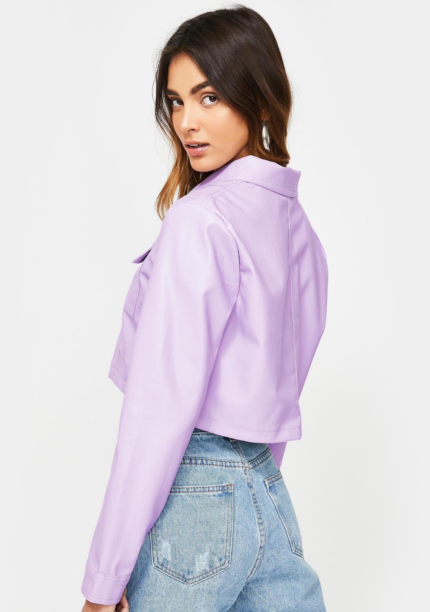Lioness Hudson Faux Leather Jacket