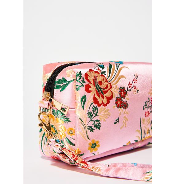 Rose High Tea Time Wristlet