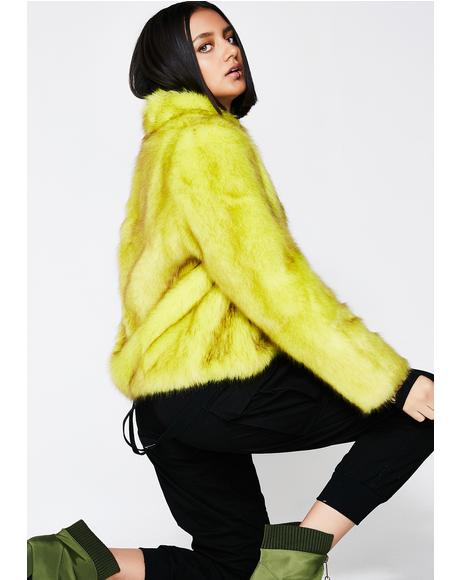 Oxana Faux Fur Jacket