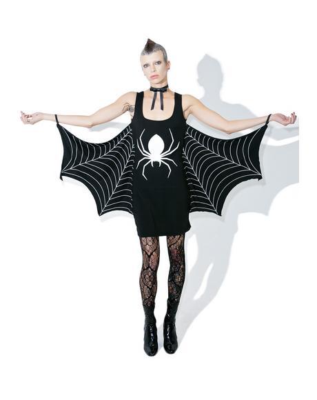 Walkin' In Yer Spiderwebs Dress
