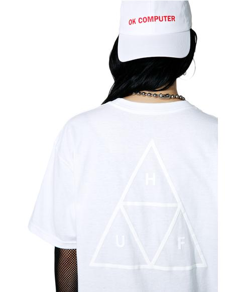 Triple Triangle Puff Tee