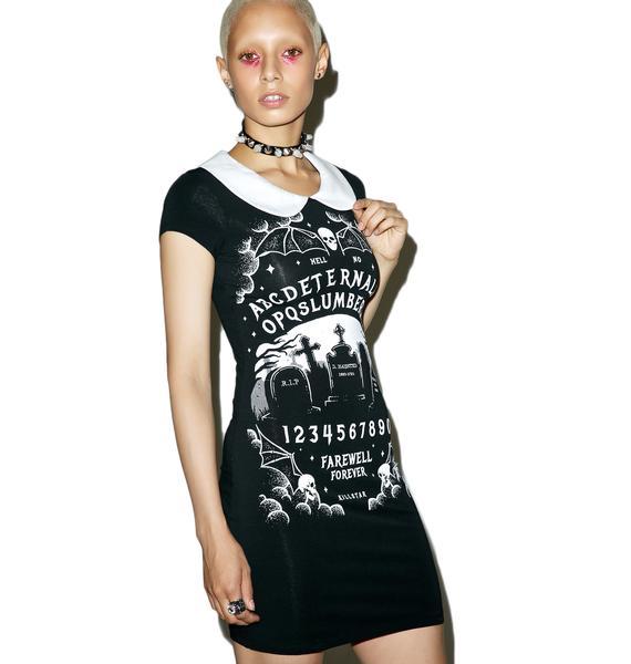 Killstar Furious Faith Suspender Dress