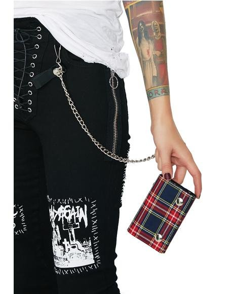 Major Attitude Chain Wallet