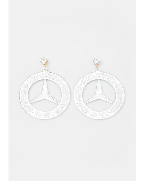 Amrachi Benz Drop Earrings