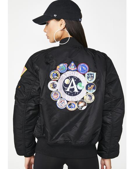 MA-1 Apollo Bomber Jacket