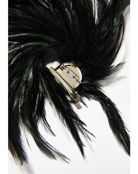 Frisky Feather Clip